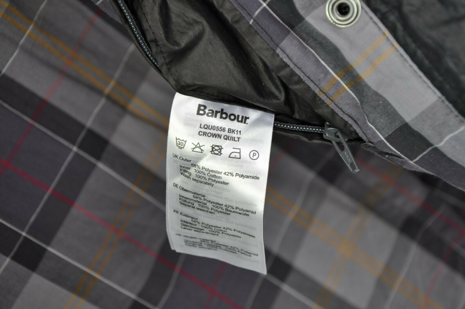 WOMENS BARBOUR INTERNATIONAL 'CROWN' QUILTED PUFF… - image 9
