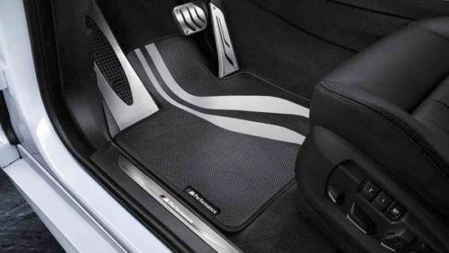 Genuine Bmw 6 Series F12 F13 Set Of Performance Front Floor Mats 2365220 Oem For Online Ebay