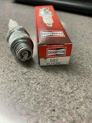 Champion RJ12C Copper Plus Small Engine Spark Plug Pack of 1 592M