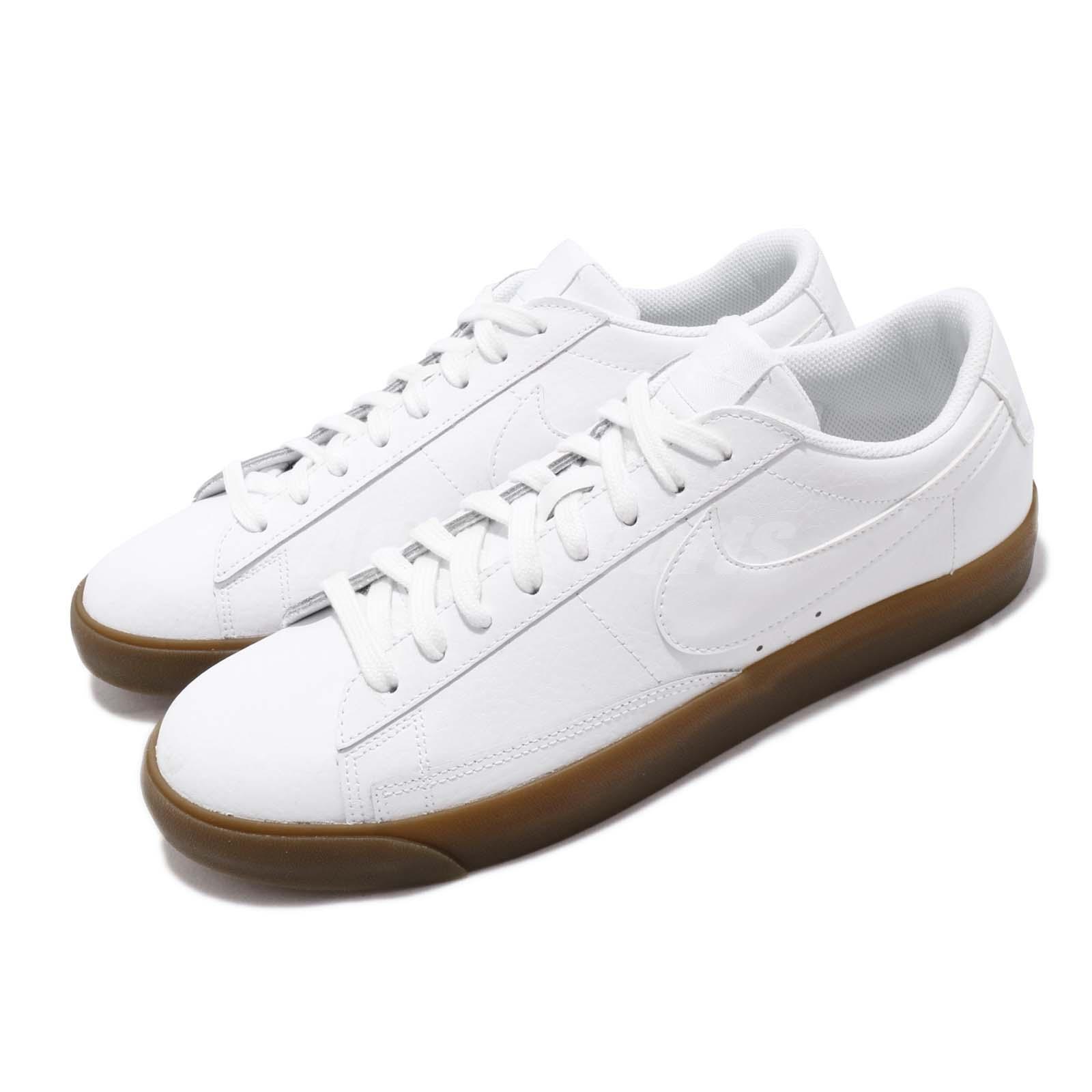 Nike Blazer Low LE White Gum Men Casual Lifestyle shoes Sneakers AQ3597-102