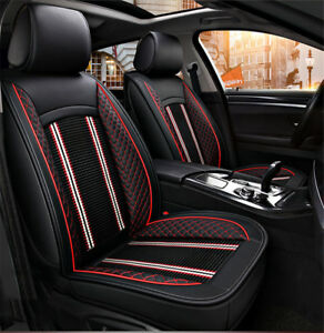 Car-Seat-Covers-Universal-PU-Leather-Auto-Front-Seat-Cushion-Protector-Pad-Mat