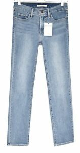 Stretch Rise Mid Leg Size Shaping Levis 8 Straight 314 Jeans Blue W26 L32 IqO0wX