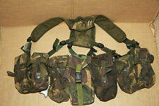 British Army  DPM PLCE Webbing Yoke Belt 5 Pouches Supergrade