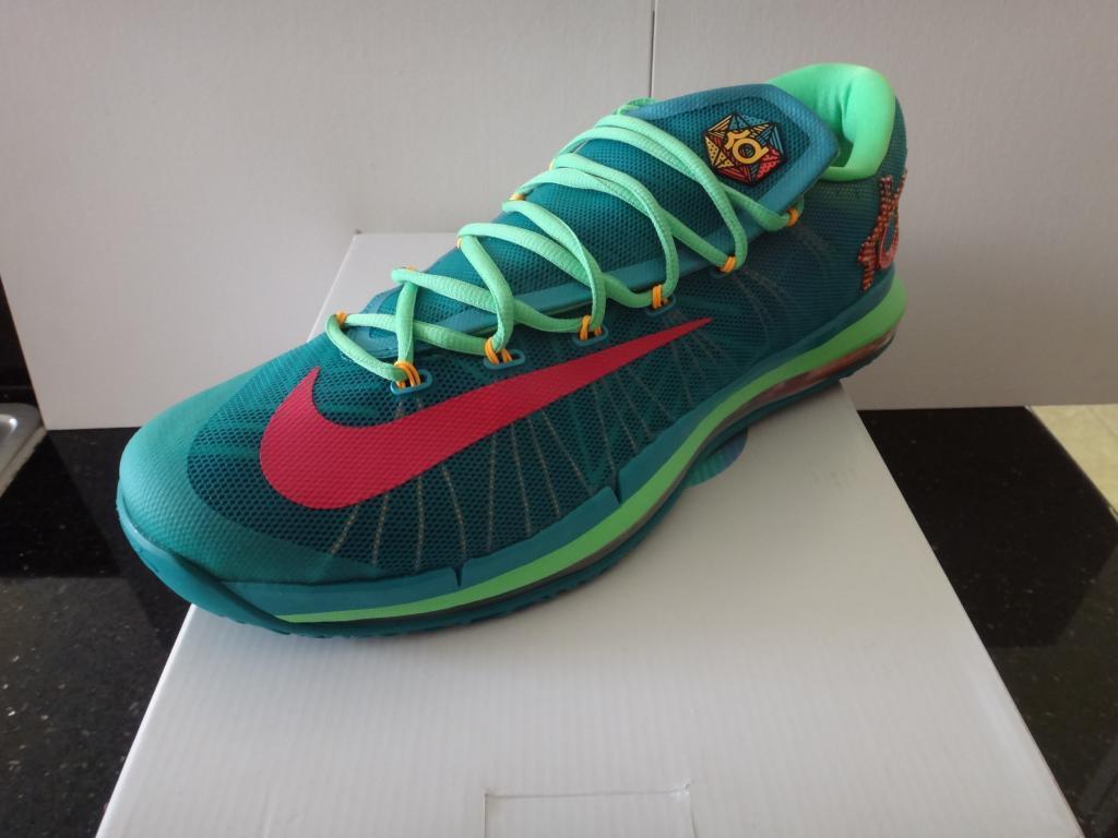 new style e92f4 8c27e Nike air kd 6 6 6 vi durant 10,5 14 elite till eroe zia