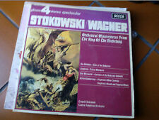 """LP 12"""" LEOPOLD STOKOWSKI ORCHESTRAL MASTERP.FROM RING OF NIEBELUNG WAGNER EX++"""