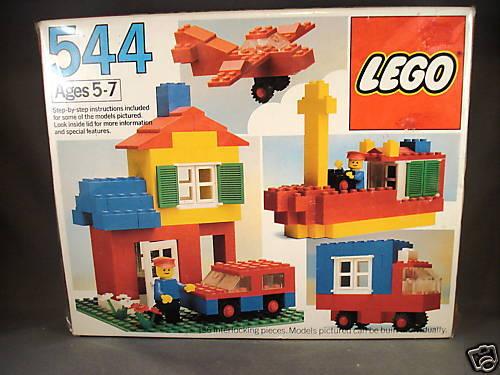 1983 Lego set 544 Basic Building set