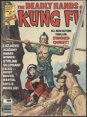 1976 The Deadly Hands Of Kung Fu #25 Marvel To Be Highly Praised And Appreciated By The Consuming Public