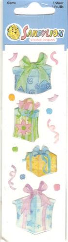 Sandylion Vintage Assorted GEM STICKERS Cinderella Christmas /& More You Pick