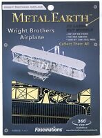 Metal Earth Wright Brothers Airplane 3d Puzzle Micro Model