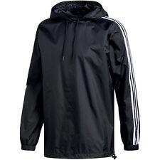 Adidas Originals clfn Windbreaker chaqueta de hombre negro / blanco ay7747 s