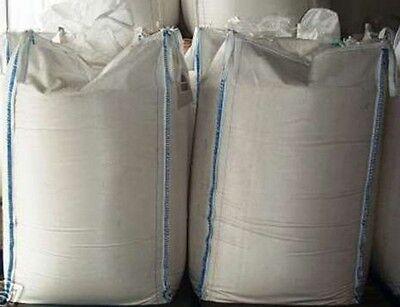 * 2 Pezzi Big Bag 100 X 90 X 90 Cm - 1000 Kg Carico-bags Bigbag Fibcs Fibc- Luminoso E Traslucido Nell'Apparenza