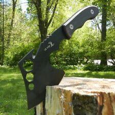"11"" TACTICAL SURVIVAL Wood Throwing AXE HATCHET TOMAHAWK Hawk Hunting w/ SHEATH"