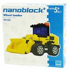 Nanoblock Plus PBS 006 Wheel Loader Building Block Kawada