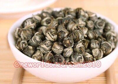 250g 8.8 oz 100% Organic Premium King grade China Jasmine Dragon Pearl Green Tea