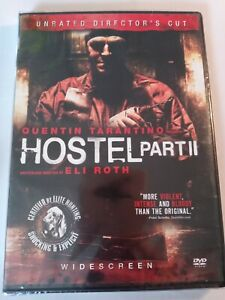 Hostel Part II (DVD, 2007, Widescreen, Unrated Director's Cut) LIKE NEW
