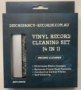 Discrepancy Records Lp Vinyl Cleaning Kit Anti Static