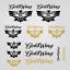 HONDA Goldwing pegatina sticker 13 x GL 1500 replica tanque Casco calcomanías