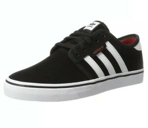 adidas-Seeley-Black-Skateboarding-trainers-sneakers-shoes-BY4007-UK5-EU38
