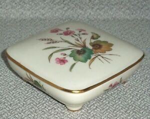 Rosenthal  Kronach Bavaria trinket box 1900 Roses And Gilded