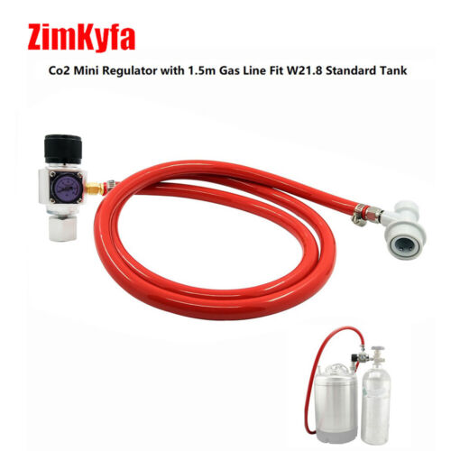 CO2 Mini Gas Regulator 60PSI for Sodastream Paintball Tank Disposable Cartridge