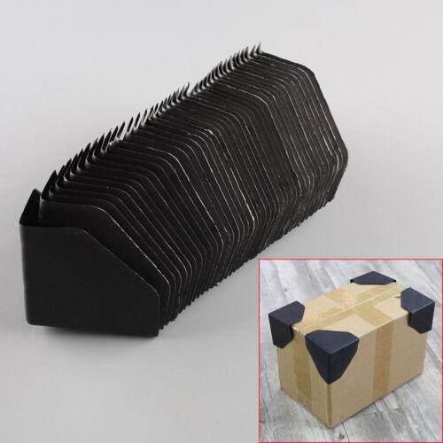 "40pcs Plastic Packing Corner Protector Shipping Edge Cover 3/"" Black Hot New"