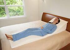 memory foam pillow bed wedge system comfort sleep adjustable back support lumbar
