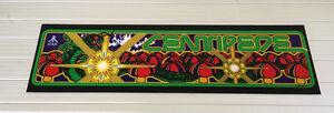 Fougueux 1980 Atari Centipede Machine D'arcade Chapiteau Tout Nouveau Sérigraphiés Dernier Style