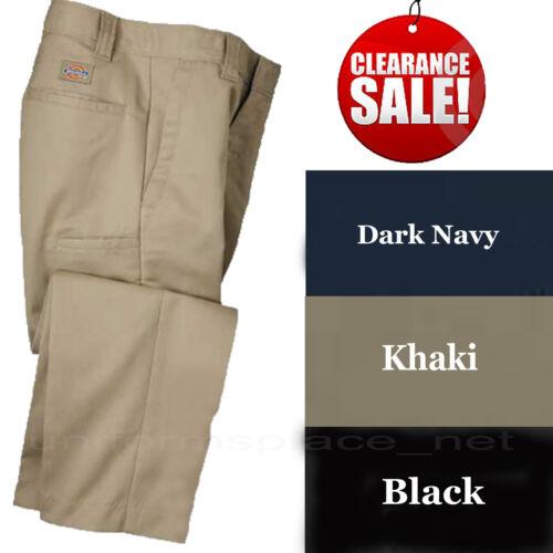 Dickies School Uniform Pants Boys Flexwaist Cell Pocket KP122 Black Navy Khaki