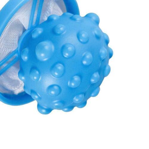 Schwimmende Wäschekugel Haar-Fussel-Flaum der Wäscherei-Waschmaschine ergr Q6Q9