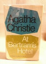 "Agatha Christie ""At Bertrams's Hotel"" 1st Edition UK Print 1963"