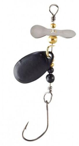 Balzer Trout Attack Spinner Prop /& Spin Schwarz 2g 160460103 Forellenspinner UL