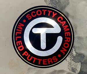 """Scotty Cameron 2021 New Gallery CIRCLE T • FOR TOUR USE ONLY Sticker 3"""" TOUR RED"""