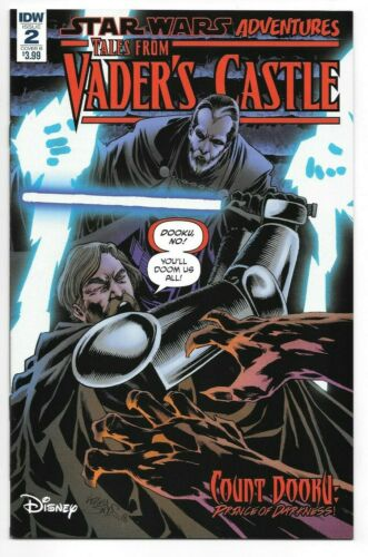 IDW Publishing Star Wars Adventures TALES FROM VADER/'S CASTLE #2 cover B