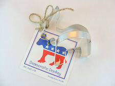 DEMOCRATIC DONKEY Cookie Cutter By Ann Clark ~ MADE IN THE USA (NEW)