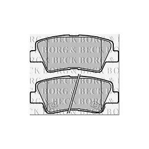 BBD5084 PREMIUM REAR 286mm SOLID BORG BECK COATED BRAKE DISCS PADS SET