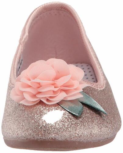 OshKosh B/'Gosh Kids Maci Girl/'s Dressy Ballet Flat SIZE 12 TODDLER