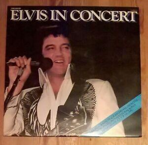 Elvis-Presley-Elvis-In-Concert-2-Vinyl-LP-Album-33rpm-1977-RCA-PL-02587