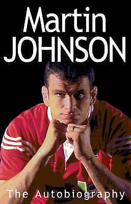 """AS NEW"" Martin Johnson Autobiography, Johnson, Martin, Book"