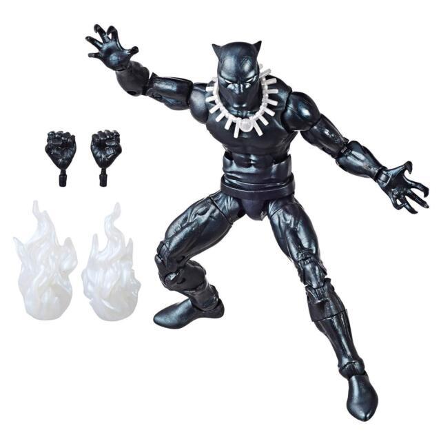 Hasbro MARVEL Legends VINTAGE RETRO series 2 BLACK PANTHER 6 inch  Figure  NEW!