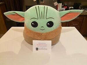 Star Wars Mandalorian The Child Baby YODA Squishmallow  20 Inch XL New!!!