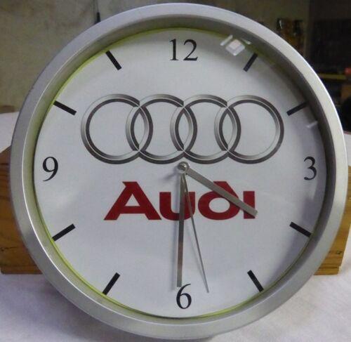AUDI pendule murale horloge 20cms  KDO DKO QUATTRO 80 100 200 A3 A4 A5 A6 A4 A8