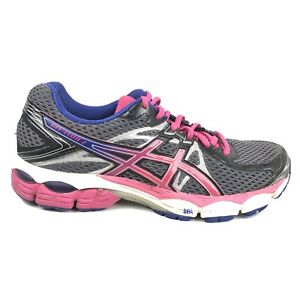 Asics-Gel-Flux-2-Running-Shoes-Womens-Size-8-5-8-1-2-Gray-Pink-Sneakers-Speva