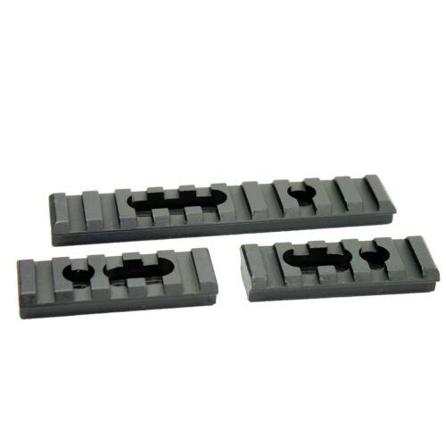 Tactical Picatinny Weaver Rail Section Set for MOE Hunting Handguard Aluminum