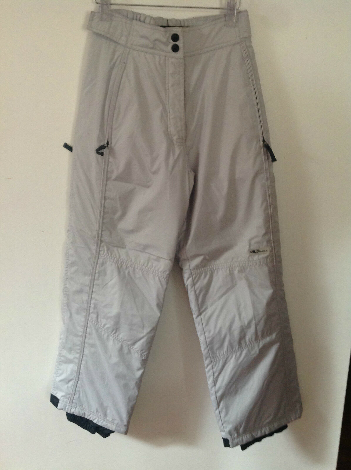 O'NEILL GIRL LIGHT GREY SKI   BOARD TROUSERS   176    BNWT