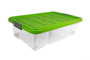 unterbettkommode mit rollen unterbettbox rollenbox spielzeugkiste rollbox gr n ebay