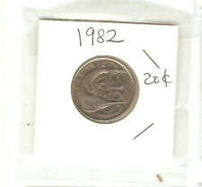 Offer>Singapore 20 cents 1982  Fish coin  lustre/high grade! ??