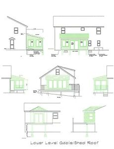 Image Is Loading Sunroom Plan Blueprints Covered Deck 3 Season Room
