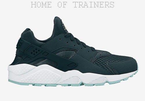 Nike Air Huarache green Isola men shoes da Ginnastica Tutte le Misure (Pti )
