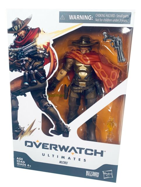 """HASBRO OVERWATCH ULTIMATES McCREE 6"""" COLLECTIBLE ACTION FIGURE BLIZZARD - NEW!!!"""