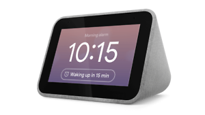 Lenovo Smart Clock with Google Assistant - Grey
